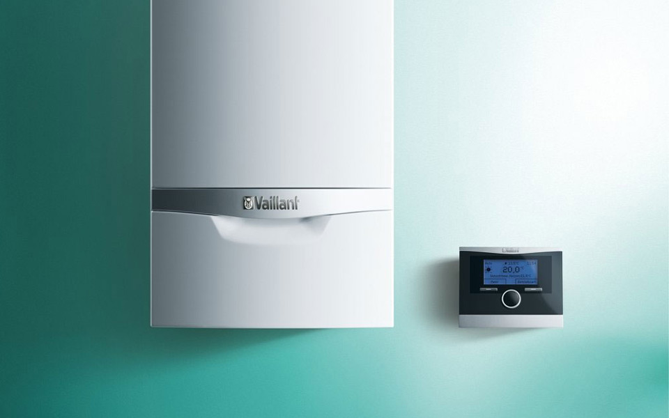 vaillant boiler and controls